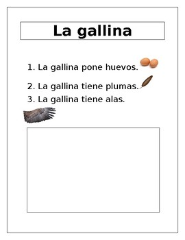 Farm Animals in Spanish