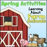 Farm Animals in Spring