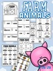 Farm Animals minibook