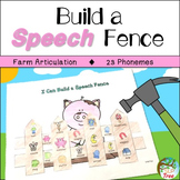 Farm Articulation: Build a Speech Fence