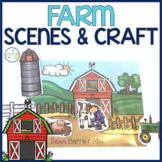Farm Barrier Activity & Craftivity Speech and Language Dev