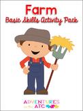 Farm Basic Skills Activity Pack