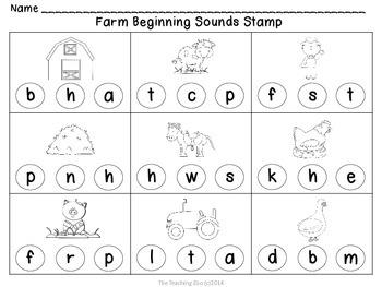 Farm Beginning & Ending Sounds