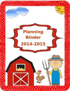 Farm Binder Covers