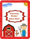 Farm Binder Covers