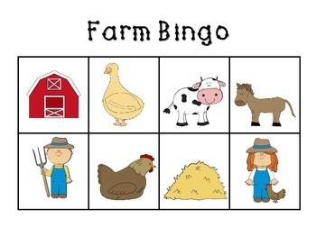 Farm Bingo
