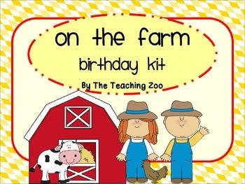 Farm Birthday Kit