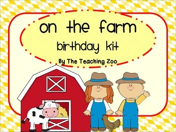 Farm Birthday Kit