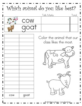 Farm Animals for Grades K-2