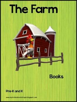 Kindergarten Farm Emergent Reader Books