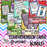 Farm Bug Ocean Zoo Community Comprehension Activity BUNDLE