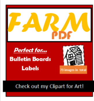 Farm, Bulletin Board, PDF's, Portfolio Decorations, Folder, 19 Pages
