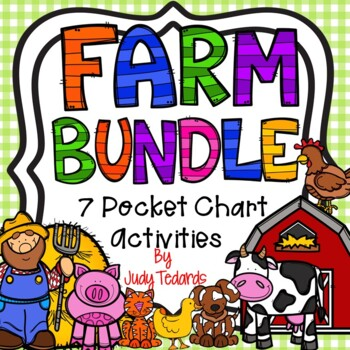 Farm Bundle (6 Pocket Chart Activities)