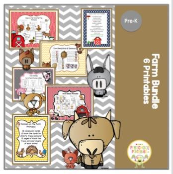 Farm Bundle -6 Printable- 156 Pages