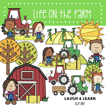 Farm Bundle - Laugh and Learn Clip Art