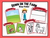 Farm Busy Folder For Dramatic Play, Speech, Fun & More!