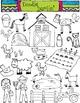 Farm COMBO Clipart Set