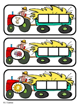 Farm CVC Words for Small Group and Literacy Centers