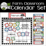 Farm Calendar Bulletin Board Set
