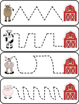 Farm Center Printables