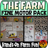 Farm Centers Fine Motor Centers OT Farm Activities Occupational Therapy
