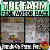 Farm Centers Activities Fine Motor Centers OT Literacy Mat