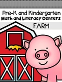 Farm Centers and Activities for Pre-K/Kindergarten