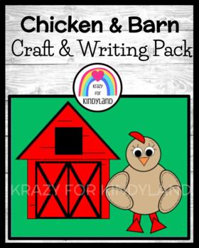 Chicken Craft and Barn Writing (Farm Animal Research, Spring, Autumn)
