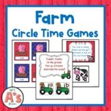 Farm Circle Time Activities **BUNDLE**