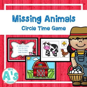 Farm Circle Time Activities Set #3 **BUNDLE**