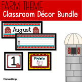 Farm Classroom Decor Bundle
