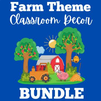 Farm Classroom Decor | Farm Classroom Theme | Farm Animal Theme
