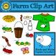 Stick Figure Farm Clip Art