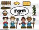 Farm Clip Art Bundle - Farm Clipart - Squishies Clipart