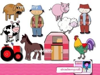Farm Clip Art, Commercial Free