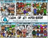 Farm Clip Art Mega-Bundle - Chirp Graphics