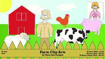 Farm Clip Arts