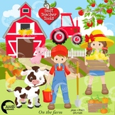Farm Clipart, Farm Animal Clipart, (Best Teacher Tools} AMB-1494