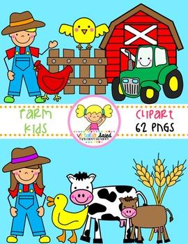 Farm Clipart {Kids Clipart}