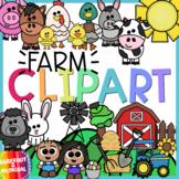 Farm Clipart - Spring Clipart - Moveable