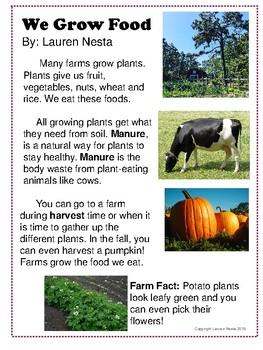 Farm Close Read