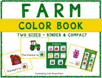 Farm Color Books (Adapted Books)