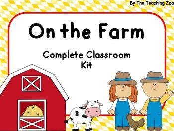 Farm Complete Classroom Bundle