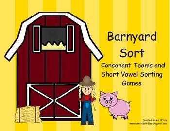 Farm Consonant Team and Vowel Sort