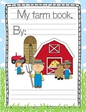 Farm Count and Color Book