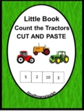 Farm Theme Tractors Counting Book, Kindergarten Math Counting 1-12 Special Ed