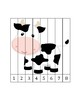 Farm Counting 1-8 Picture Puzzle Sample