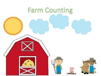 Farm Counting - File Folder/Memory Actvity