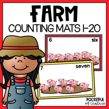 Farm Counting Mats 0-20