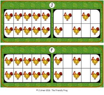 Farm Counting with 20 Frames {Subitizing}